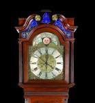 Reloj inglés con calendario lunar
